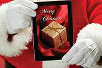Christmas greeting from the Courier staff