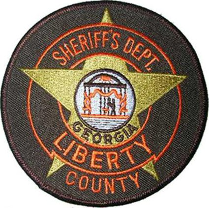 Liberty Co sheriffs patch WEB