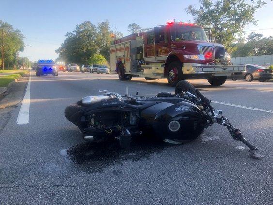 Motorycicle wreck
