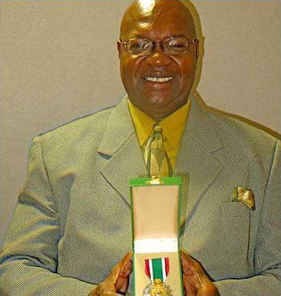 Willie Price with Kuwait Liberation Medal