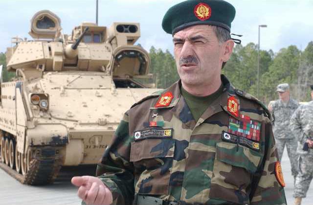 Afghan General Roshangar