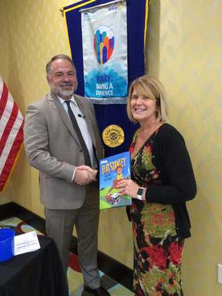 Film Expert Charles Bowen Presents at Hinesville Rotary Club