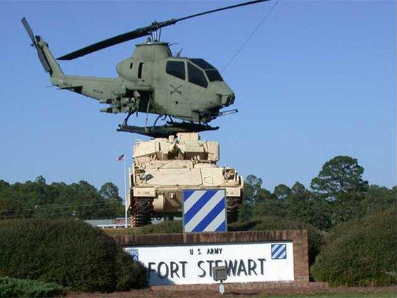 Fort Stewart display
