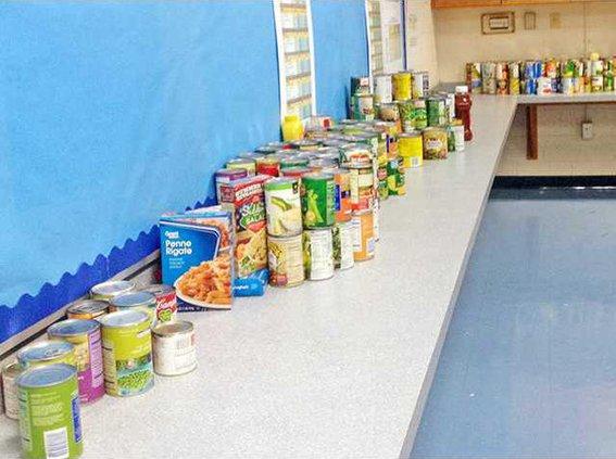 Long County food drive 1130
