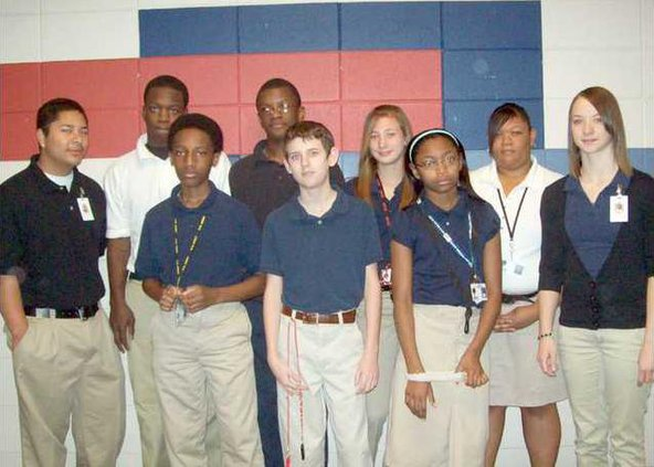 0414 Midway Middle students of month