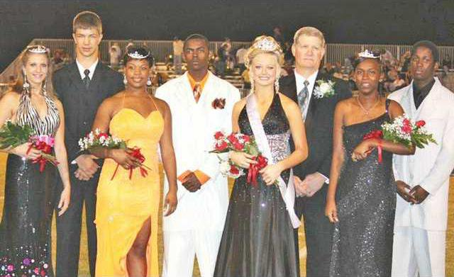 1021 LCHS Homecoming Court