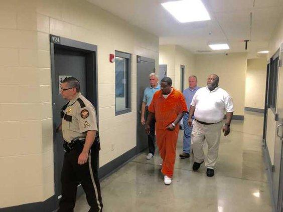 Dotson at jail