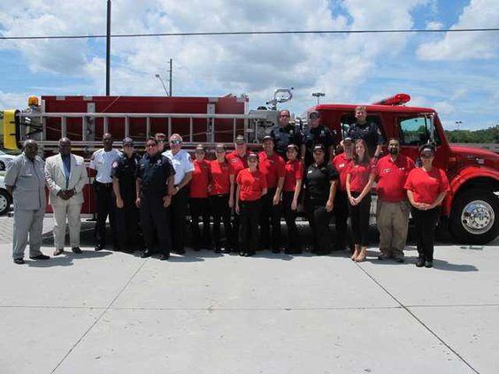 Firehouse Subs staff HFD Thomas  Anderson