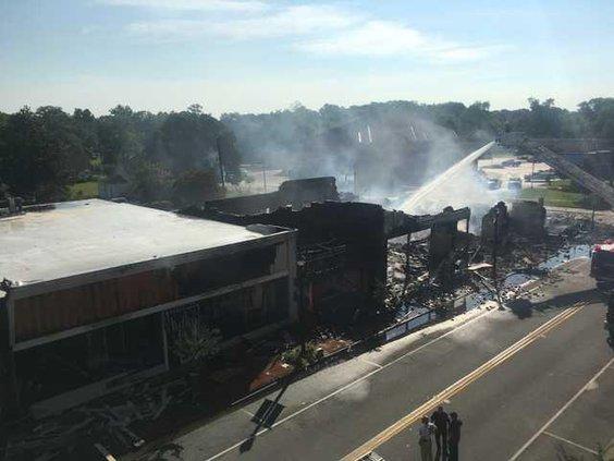 Glennville fire 1