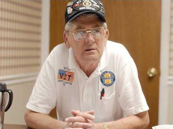 Harold Butch Hemingway president of the Vietnam Veterans of America