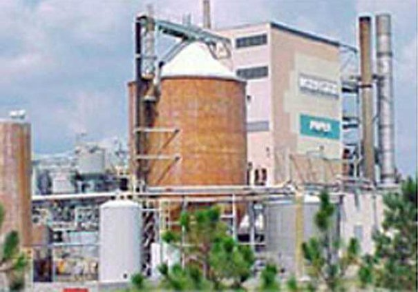 Interstate Paper mill