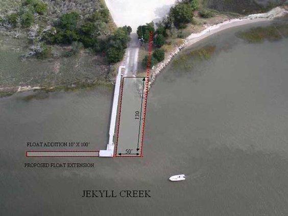 Jekyll Boat Ramp Renovation
