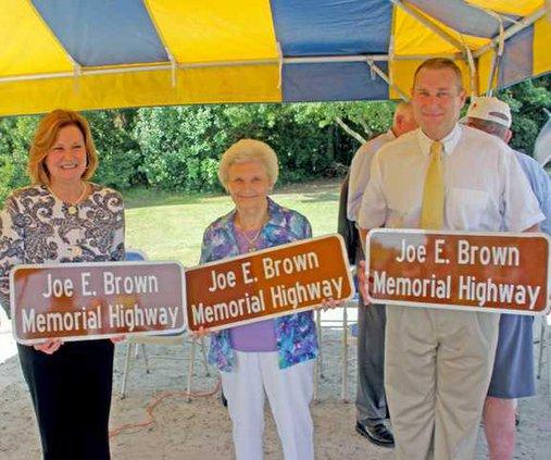 Joe Brown memorial 1