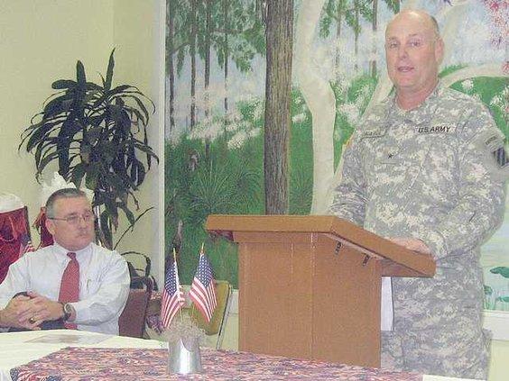 LONG Gen. Donahue at chamber