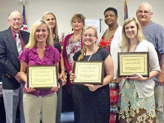 Long BoE May 14 Meeting Teachers of the Yr