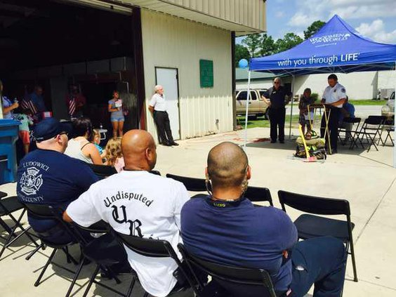 Long Co Remebers 9-11 Ceremony