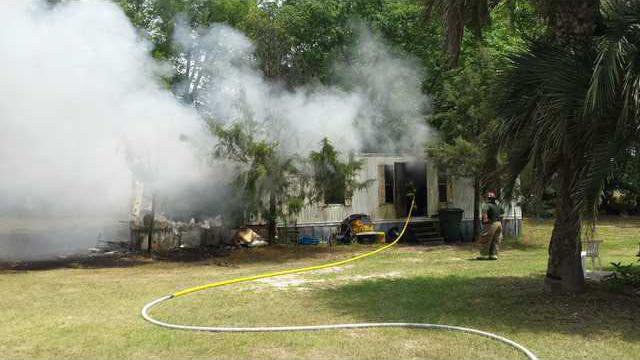 Long Co mobile home fire