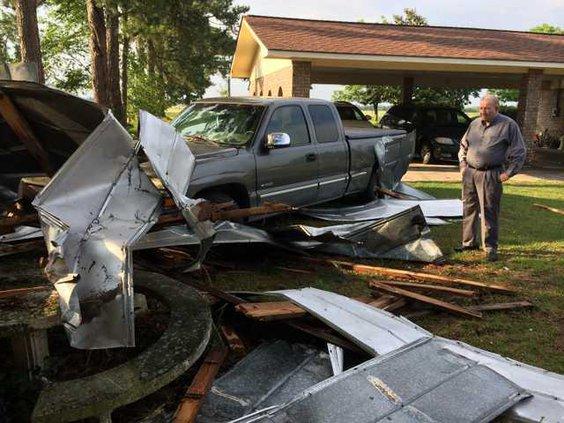 Ludo storm damage