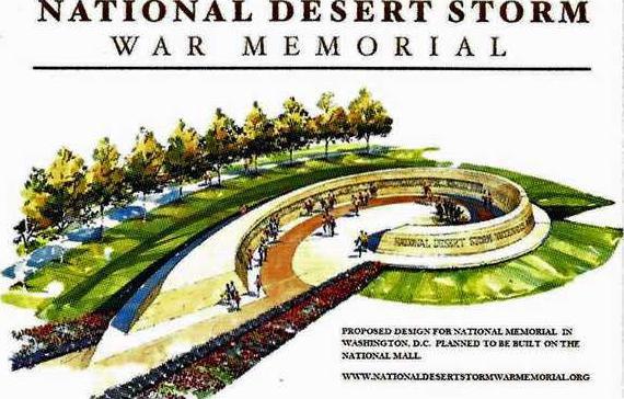 National Desert Storm War Mamorial