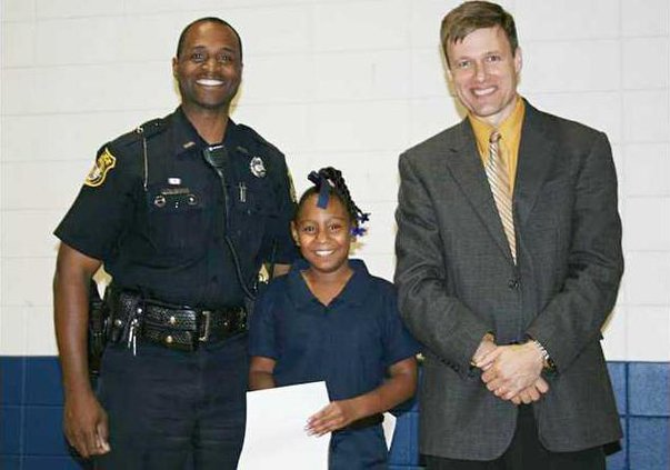 Officer Dave Gay Vanessa Lewis Scott Carrier