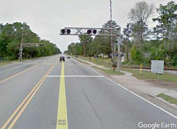 RR crossing in allenhurst 0409