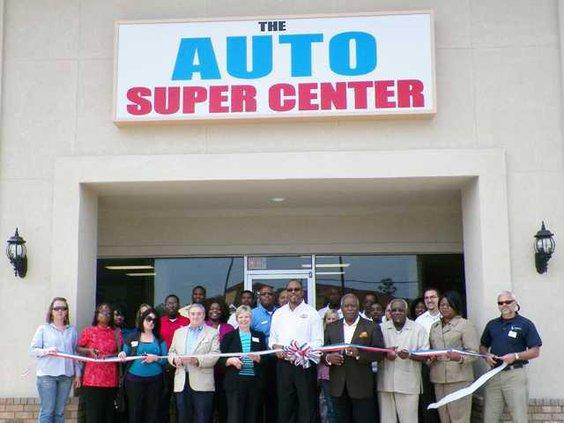 Ribbon Cutting - Auto Super Center