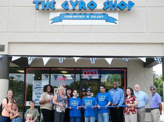 Ribbon Cutting - Gyro Shop