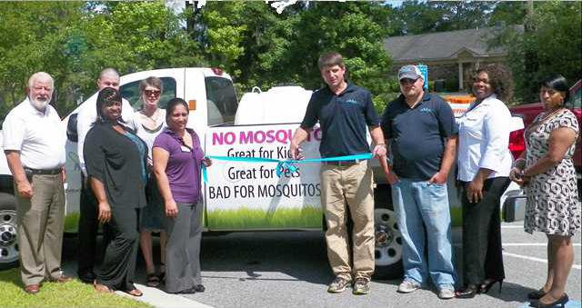 Ribbon Cutting - Mosquito Authority