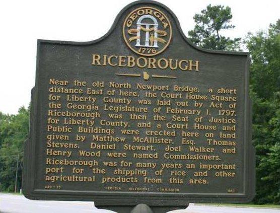 Riceborough-Marker