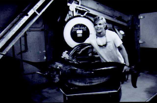 Swordfish Record Angler Brendin Page