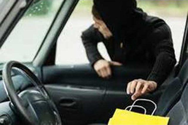 Theft from vehicle graphic