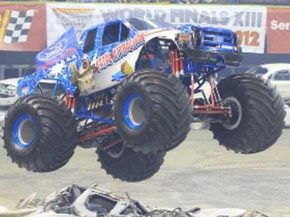 WEB Monster truck