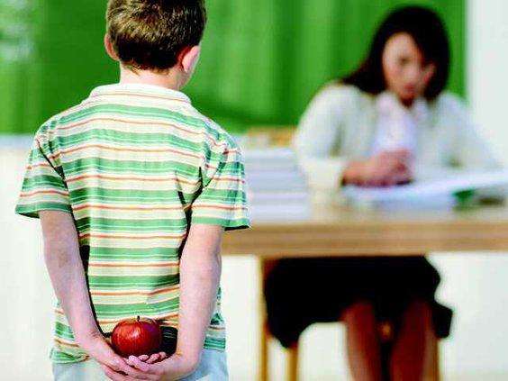 apple for teacher