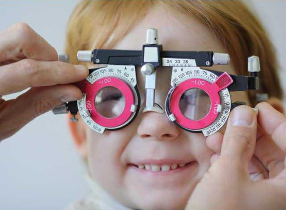 eye exam child