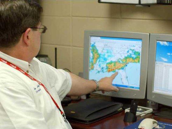 hodges points to doppler radar