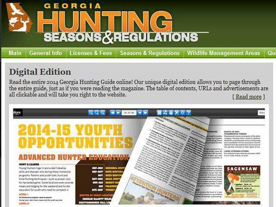 hunting regs