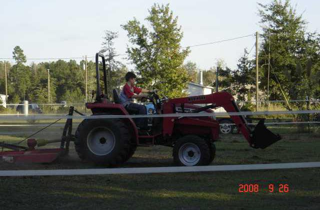 jme Joshua on tractor