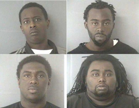 robbery suspects together