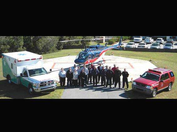 1109 Ribbon Cutting - Air Evac Lifeteam