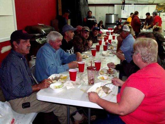 1209 Volunteer dinner