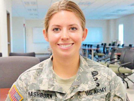 1st Lt. Rachel Washburn