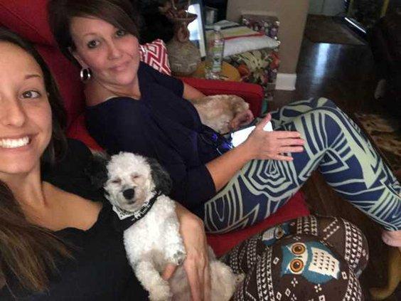 Amanda Fay and Michelle Caraballo