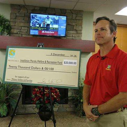 Clydes donation to Survivor Outreach 013-1