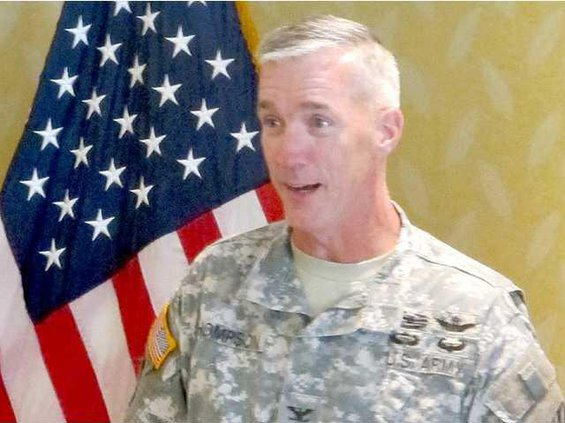 Col. John Thompson 3rd ID chief of staff