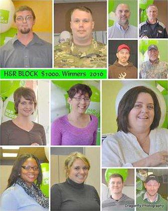 HR Block contest winners