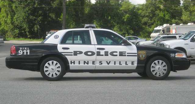 Hinesville police car