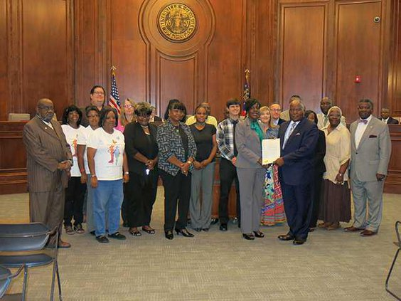 Homeless  Hunger Awareness Month proclamation-1