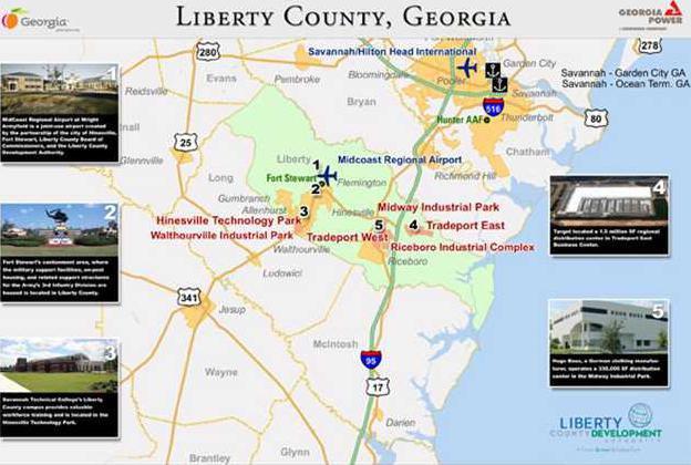 LCDA-map