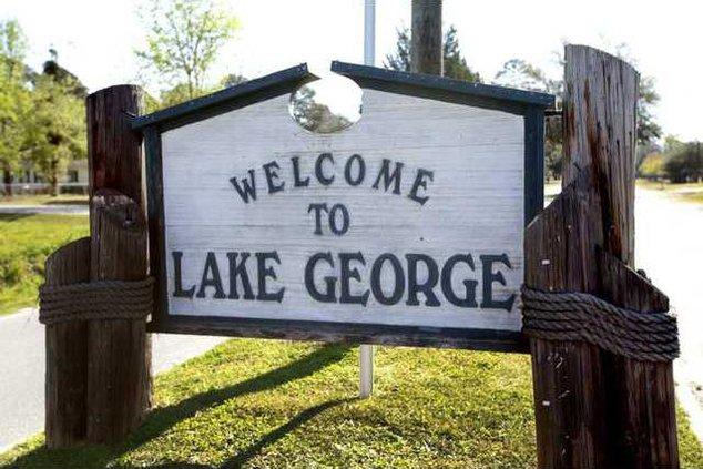 Lake George sign
