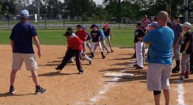 Long Co Rec Dept Baseball Clinic picture 2